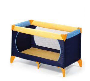 Hauck – Reisebett Dream'n Play 60×120 cm gelb/blau  kaufen