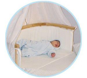babybay – Original Matratze und Nestchen, naturweiß  kaufen
