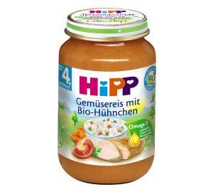 HiPP Gemüsereis mit Bio-Hühnchen, 6-er Pack (6 x 190 g) – Bio  kaufen