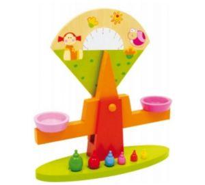 Balkenwaage Bunt – Kinderspielzeug aus Holz  kaufen