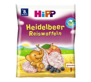 HiPP – Heidelbeer Bio-Reiswaffeln, Inhalt 7 x 35 g  kaufen