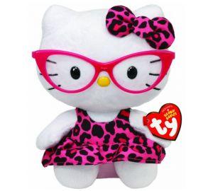 Hello Kitty – Baby-Fashionista mit pinkfarbener Brille – 15 cm  kaufen
