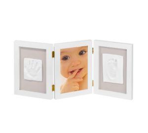 My Sweet Memories – 3-teiliger Rahmen für Foto und 2 Baby-Gipsabdrücke  kaufen