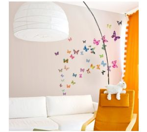 Kinderzimmer wandgestaltung schmetterling  Wandgestaltung | Baby-Ratgeber.net