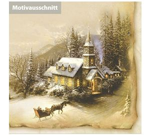 Nostalgie Weihnachtskarten Set  kaufen