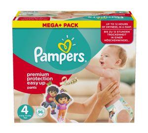 Pampers Easy up, Mega plus Pack, verschiedene Größen  kaufen