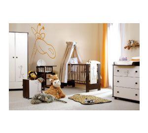 """Kinderzimmer komplett """"Safari"""" Babybett, Wickeltisch, Kleiderschrank uvm.  kaufen"""