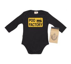Spoilt Rotten Poo Factory Baby Strampelanzug / Bodys 100% ökologisch  kaufen