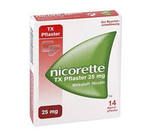 Nicorette Tx Nikotinpflaster 25 mg 14 stk  kaufen