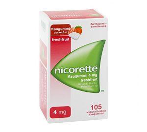 Nicorette 4 mg freshfruit Kaugummi 105 stk  kaufen
