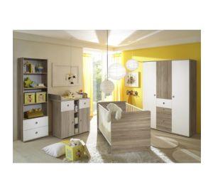 Babyzimmer komplett – Wiki eiche Sonoma Weiß  kaufen