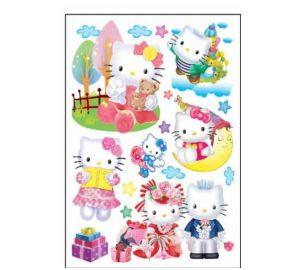 Wandgestaltung baby - Hello kitty babyzimmer ...
