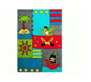 Kinderteppich Schatzinsel Räuber und Pirat / Pino und die Schatzinsel / 80×150 cm  kaufen