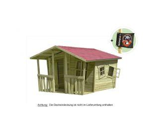 Spielhaus Gartenhaus Lisa-Fun aus Holz  kaufen