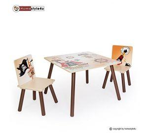 Kindersitzgruppe Pirat mit Kindertisch und Kinderstühlen  kaufen