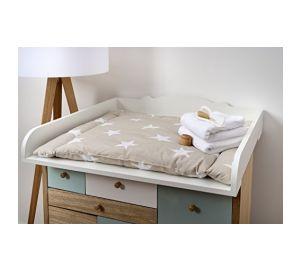 wickelaufsatz von kraftkids wei passend f r malm. Black Bedroom Furniture Sets. Home Design Ideas