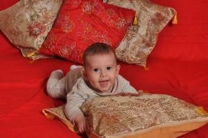 Kopfkissen-baby