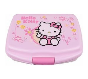 brotdose hello kitty lunchbox f r kinder m dchen baby. Black Bedroom Furniture Sets. Home Design Ideas