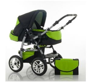 "Kombi-Kinderwagen ""FLASH"" – 9 teiliges Megaset  kaufen"