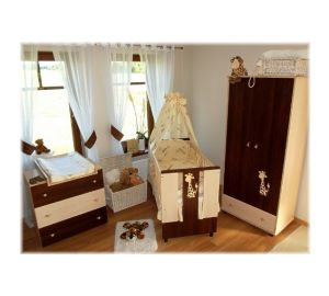 wickelkommode babyzimmer set babybett bettw sche baby. Black Bedroom Furniture Sets. Home Design Ideas
