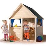 Holz-Kinderspielhaus, ein Abenteuer für jedes Kind