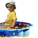 Baby Sandkasten, mehr als nur eine Buddelkiste